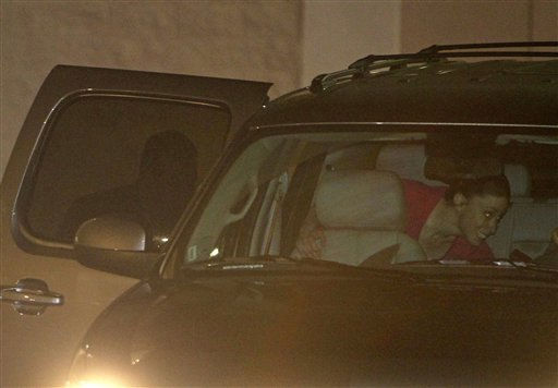 Casey Anthony, right, climbs into an SUV with her lawyer Jose Baez, left, after her release from the Orange County Jail in Orlando, Fla., early Sunday, July 17, 2011.  Anthony was acquitted last week of murder in the death of her daughter, Caylee. &#40;AP Photo&#47;John Raoux&#41; <span class=meta>(AP Photo&#47; John Raoux)</span>