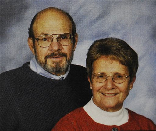 This undated photo provided Monday, Jan. 16, 2012 by the St. Piux X Catholic Church directory in White Bear Lake, Minn. shows Jerry and Barbara Heil. The Heils are among those still missing after a cruise ship hit a reef off the west coast of Italy late Friday, Jan. 13, 2012 following an unauthorized maneuver by the captain. &#40;AP Photo&#47;St. Pius X Church Directory Photo, Olan Mills Studios&#41; <span class=meta>(AP Photo&#47; Anonymous)</span>