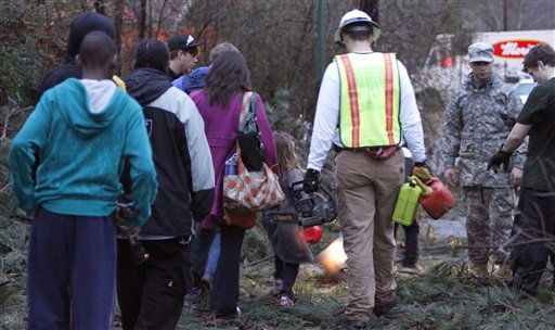 "<div class=""meta ""><span class=""caption-text "">Residents walk around through the debris of their neighborhood after a severe storm ripped through the Trussville, Ala. area in the early hours of Monday, Jan. 23, 2012. Jefferson County sheriff's spokesman Randy Christian said the storm produced a possible tornado that moved across northern Jefferson County around 3:30 a.m., causing damage in Oak Grove, Graysville, Fultondale, Center Point, Clay and Trussville.   (AP Photo/ Butch Dill)</span></div>"
