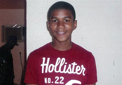 "<div class=""meta image-caption""><div class=""origin-logo origin-image ""><span></span></div><span class=""caption-text"">FILE - This undated file family photo shows Trayvon Martin. Martin was slain in the town of Sanford, Fla., on Feb. 26 in a shooting that has set off a nationwide furor over race and justice. Neighborhood crime-watch captain George Zimmerman claimed self-defense and has not been arrested, though state and federal authorities are still investigating. Since the slaying, a portrait has emerged of Martin as a laid-back young man who loved sports, was extremely close to his father, liked to crack jokes with friends and, according to a lawyer for his family, had never been in trouble with the law.  (AP Photo/ Anonymous)</span></div>"