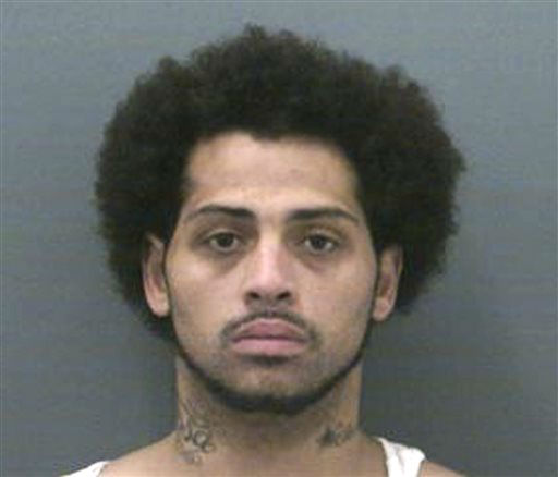 This undated photo provided Friday, June 28, 2013 by the Connecticut Department of Correction shows Carlos Ortiz, 27, of Bristol, Ct., arrested Wednesday, June 26, 2013 as a fugitive from justice. A prosecutor said the arrest came as law enforcement officials were helping Massachusetts authorities investigating the shooting death of Odin Lloyd. Former New England Patriots tight end Aaron Hernandez is charged with murdering Lloyd.   <span class=meta>(AP Photo&#47; Uncredited)</span>