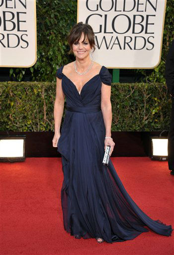 Actress Sally Field arrives at the 70th Annual Golden Globe Awards at the Beverly Hilton Hotel on Sunday Jan. 13, 2013, in Beverly Hills, Calif. &#40;Photo by John Shearer&#47;Invision&#47;AP&#41; <span class=meta>(Photo&#47;John Shearer)</span>