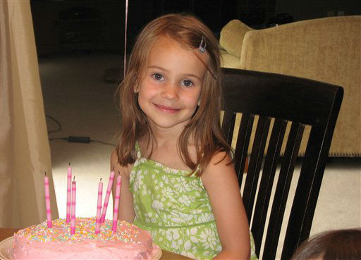 "<div class=""meta ""><span class=""caption-text "">This photo provided by the Wyatt family shows Allison Wyatt. Wyatt, 6, was killed Friday, Dec. 14, 2012, when a gunman opened fire at Sandy Hook elementary school in Newtown, Conn., killing 26 children and adults at the school.   (AP Photo/ uncredited)</span></div>"