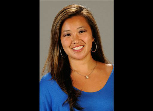 "<div class=""meta ""><span class=""caption-text "">FILE - This undated file photo provided by Cal State Fullerton on Monday, Feb. 4, 2013, shows Cal State Fullerton assistant women's NCAA college basketball coach Monica Quan in Fullerton, Calif. Quan and her fiance Keith Lawrence were found shot to death Sunday night on the top floor of a parking structure at the complex, police said. Former LAPD officer and U.S. Navy reservist Christopher Jordan Dorner, 33, is a suspect in the killings.   (AP Photo/ Matt Brown)</span></div>"