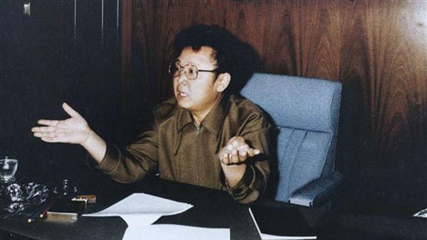 In this May 1985 photo from North Korea&#39;s official Korean Central News Agency, distributed by Korea News Service, leader Kim Jong Il discusses the business economics at the Workers&#39; Party of &#40;North&#41; Korea Secretariat Conference. &#40;Korean Central News Agency&#47;Korea News Service via AP Images&#41; <span class=meta>(AP Photo&#47; Anonymous)</span>