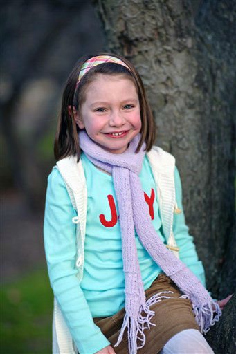 "<div class=""meta image-caption""><div class=""origin-logo origin-image ""><span></span></div><span class=""caption-text"">This Nov. 18, 2012 photo provided by John Engel shows Olivia Engel, 6, in Danbury, Conn. Olivia Engel. Olivia Engel, was killed Friday, Dec. 14, 2012, when a gunman opened fire at Sandy Hook Elementary School, in Newtown, Conn., killing 26 children and adults at the school. (AP Photo/Engel Family, Tim Nosezo)</span></div>"