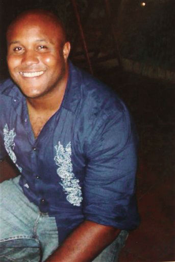 "<div class=""meta image-caption""><div class=""origin-logo origin-image ""><span></span></div><span class=""caption-text"">This undated photo released by the Los Angeles Police Department shows suspect Christopher Dorner, a former Los Angeles officer.  Dorner, who was fired from the LAPD in 2008 for making false statements, is linked to a weekend killing in which one of the victims was the daughter of a former police captain who had represented him during the disciplinary hearing. Authorities believe Dorner opened fire early Thursday on police in cities east of Los Angeles, killing an officer and wounding another.  Police issued a statewide ""officer safety warning"" and police were sent to protect people named in the posting that was believed to be written by Dorner.    (AP Photo/ HOPD)</span></div>"