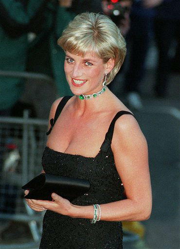 "<div class=""meta image-caption""><div class=""origin-logo origin-image ""><span></span></div><span class=""caption-text"">**  FILE  **  Diana, Princess of Wales, smiles as she arrives at the Tate Gallery in London in this Tuesday July 1, 1997 file photo. A three-year inquiry into the death of Princess Diana and Dodi Fayed has concluded that allegations of murder were unfounded, and that there is no reason for suspecting the involvement of the royal family, a senior police officer said Thursday, Dec. 14, 2006. ""Our conclusion is that, on all the evidence available at this time, there was no conspiracy to murder any of the occupants of the car. This was a tragic accident,"" said Lord John Stevens, former chief of the Metropolitan Police, who led the investigation of the deaths of Diana, 36, and her companion Dodi Fayed, 42.  They were killed along with chauffeur Henri Paul when their Mercedes crashed in the Pont d'Alma tunnel in Paris on Aug. 31, 1997, while the couple was being chased by media photographers. (AP Photo/Jacqueline Arzt) (AP Photo/ JACQUELINE ARZT)</span></div>"