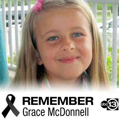 "<div class=""meta image-caption""><div class=""origin-logo origin-image ""><span></span></div><span class=""caption-text"">The parents of 7-year-old Grace Audrey McDonnell say they can't believe the outpouring of support they've received since the little girl who was the center of their lives died Friday. Lynn and Chris McDonnell called Grace ""the love and light"" of their family. ""Words cannot adequately express our sense of loss,"" the McDonnells said.</span></div>"