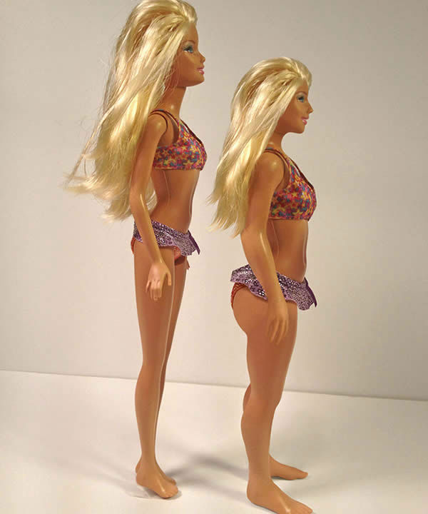 These photos show what Barbie would look like if she resembled the average woman  <span class=meta>(Photo&#47;NickolayLamm.com)</span>