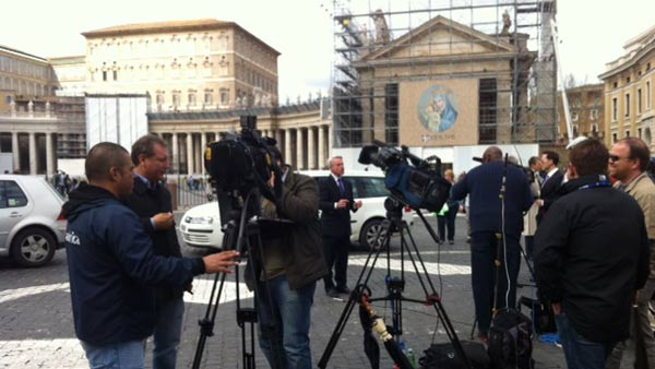 Photos from Tom Koch&#39;s coverage from Rome as the process to select a new pope is underway. <span class=meta>(Photo&#47;Wendy Granato)</span>