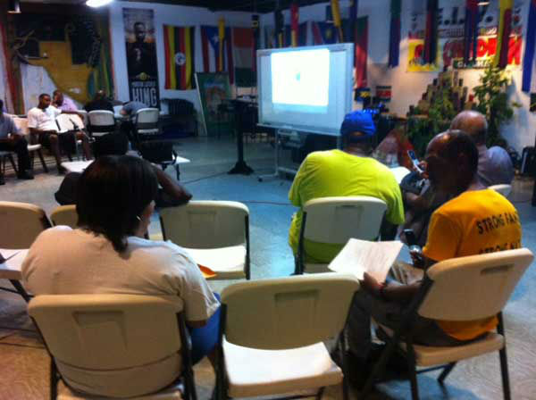 "<div class=""meta ""><span class=""caption-text "">Houstonians gathered Saturday, August 24, 2013, for a March on Washington watch party at SHAPE Community Center (KTRK Photo/ Demond Fernandez)</span></div>"