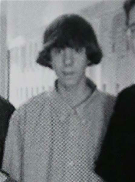 "<div class=""meta ""><span class=""caption-text "">This undated photo shows Adam Lanza posing for a group photo of the technology club which appeared in the Newtown High School yearbook. Authorities have identified Lanza as the gunman who killed his mother at their home and then opened fire Friday, Dec. 14, 2012, inside an elementary school in Newtown, Conn., killing 26 people, including 20 children, before killing himself.  Richard Novia, a one-time adviser to the technology club, verified that the photo shows Lanza. (AP Photo) (Photo/Uncredited)</span></div>"