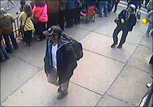 "<div class=""meta image-caption""><div class=""origin-logo origin-image ""><span></span></div><span class=""caption-text"">The FBI released photos and video of the two suspects in the Boston Marathon bombings. Submit your tips to bostonmarathontips.fbi.gov (Photo/FBI)</span></div>"