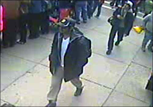 The FBI released photos and video of the two suspects in the Boston Marathon bombings. Submit your tips to bostonmarathontips.fbi.gov <span class=meta>(Photo&#47;FBI)</span>