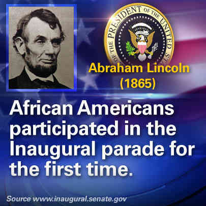 A few fun facts about inaugurations through the years.