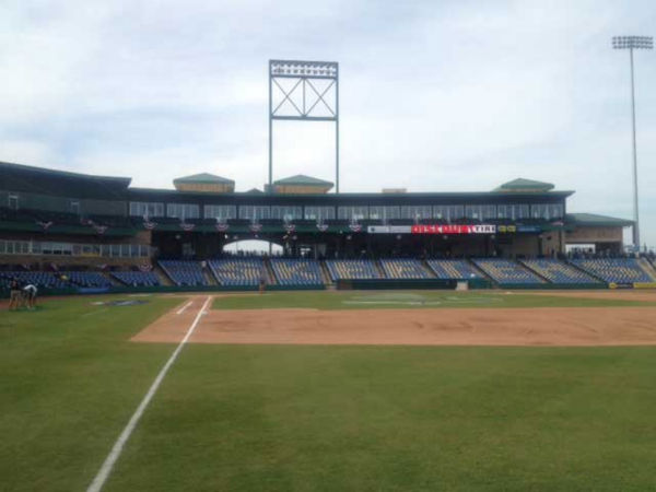 Photos from inside Constellation Field before the Sugar Land Skeeters first game ever <span class=meta>(Photo&#47;David Nuno)</span>
