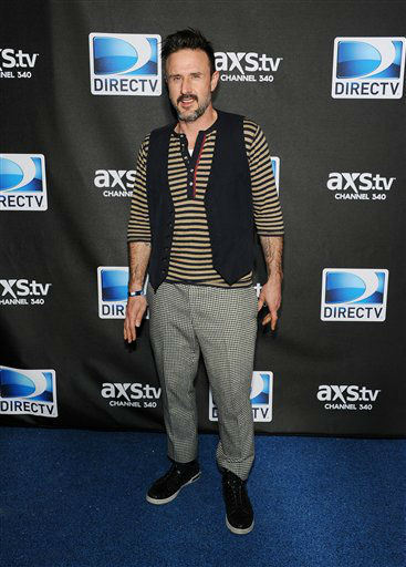 "<div class=""meta ""><span class=""caption-text "">Actor David Arquette arrives at DirecTV's Super Saturday Night party on Saturday, Feb. 2, 2013 in New Orleans.   (Photo/Evan Agostini)</span></div>"