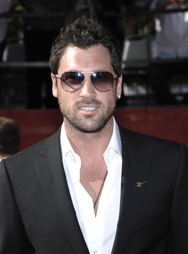 "<div class=""meta image-caption""><div class=""origin-logo origin-image ""><span></span></div><span class=""caption-text"">Dancing with the Stars Maksim Chmerkovskiy arrives at the ESPY awards on Wednesday, July 13, 2011, in Los Angeles. (AP Photo/Dan Steinberg) (AP Photo/ Dan Steinberg)</span></div>"