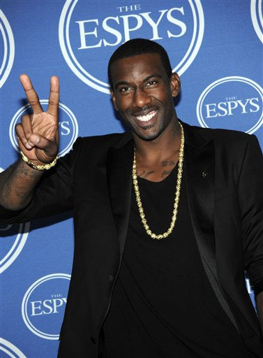 "<div class=""meta image-caption""><div class=""origin-logo origin-image ""><span></span></div><span class=""caption-text"">New York Knicks Amare Stoudemire poses backstage at the ESPY awards on Wednesday, July 13, 2011, in Los Angeles. (AP Photo/Dan Steinberg) (AP Photo/ Dan Steinberg)</span></div>"
