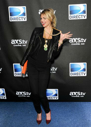 Kate Upton arrives at DirecTV&#39;s Super Saturday Night party on Saturday, Feb. 2, 2013 in New Orleans. &#40;Photo: Evan Agostini&#47;Invision&#47;AP&#41; <span class=meta>(Photo&#47;Evan Agostini)</span>