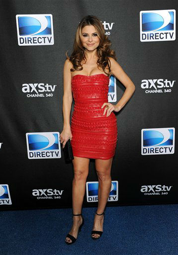 "<div class=""meta ""><span class=""caption-text "">Maria Menounos arrives at DirecTV's Super Saturday Night party on Saturday, Feb. 2, 2013 in New Orleans. (Photo: Evan Agostini/Invision/AP) (Photo/Evan Agostini)</span></div>"