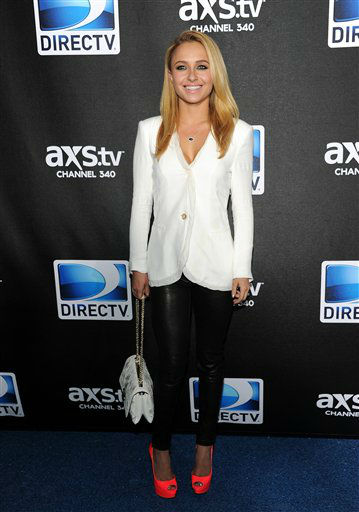 Actress Hayden Panettiere arrives at DirecTV&#39;s Super Saturday Night party on Saturday, Feb. 2, 2013 in New Orleans. &#40;Photo: Evan Agostini&#47;Invision&#47;AP&#41; <span class=meta>(Photo&#47;Evan Agostini)</span>