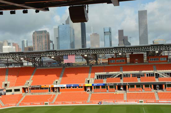 The state-of-art BBVA Compass Stadium was...