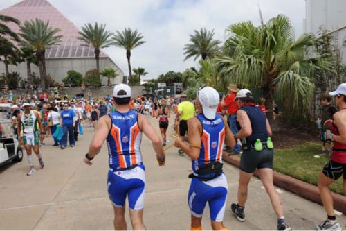 These are photos we took of he Memorial Hermann Ironman 70.3 Texas Sunday in Galveston.  If you were there and took photos, email them to us at news@abc13.com. <span class=meta>(Photo&#47;John Mizwa)</span>