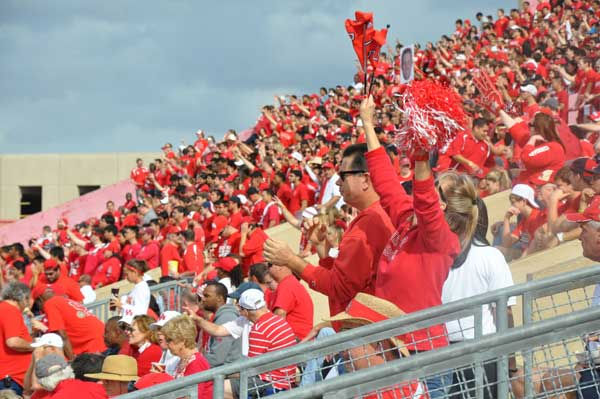 Photos from inside and outside Robertson Stadium on Saturday for the Conference USA title game.  If you took photos, email your pics to news@abc13.com!