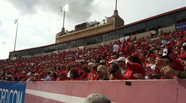 "<div class=""meta image-caption""><div class=""origin-logo origin-image ""><span></span></div><span class=""caption-text"">Photos from inside and outside Robertson Stadium on Saturday for the Conference USA title game.  If you took photos, email your pics to news@abc13.com!</span></div>"