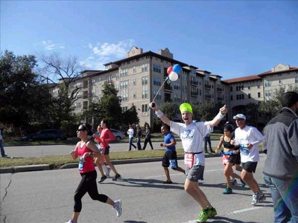 These photos were sent in by viewers through our iWitness Reports.  If you snapped photos from Sunday&#39;s Chevron Houston Marathon, Aramco Half Marathon or EP5K, send them to us at news@abc13.com or upload them here! <span class=meta>(iWitness Reports)</span>