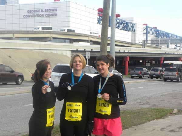 "<div class=""meta ""><span class=""caption-text "">These photos were sent in by viewers through our iWitness Reports. If you snapped photos from Sunday's Chevron Houston Marathon, Aramco Half Marathon or EP5K, send them to us at news@abc13.com or upload them here!  (Photo/iWitness Reports)</span></div>"