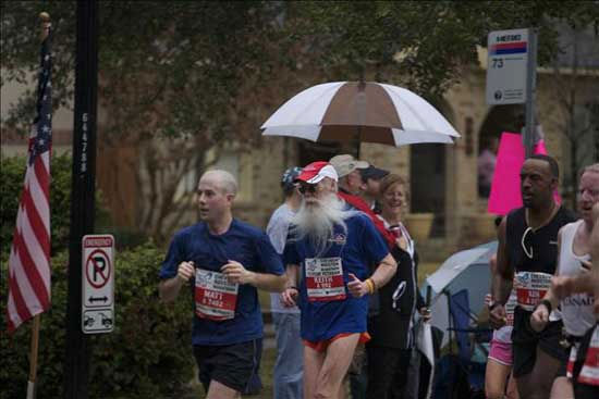 These photos from Sunday's race have been sent in to abc13.com.  Do you have photos or videos from the run?  We want to see!  Click here to send them in.