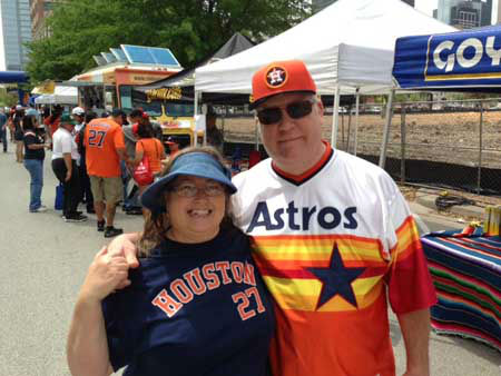 Before the big game, fans enjoyed the Opening Day Street Fest with live music, food trucks and fun for all ages <span class=meta>(KTRK Photo&#47; Damion Smith)</span>