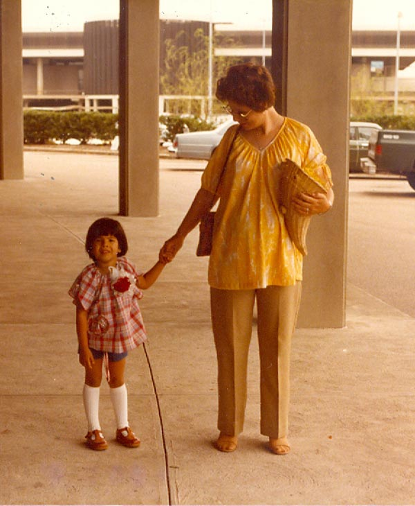 ABC-13 consumer reporter Patricia Lopez with her mother <span class=meta>(Patricia Lopez)</span>