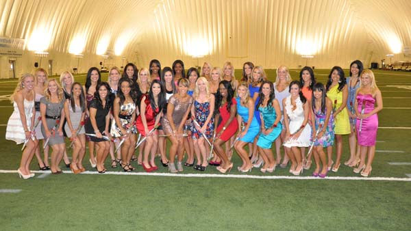 The 2011 Houston Texans Cheerleaders <span class=meta>(KTRK Photo)</span>