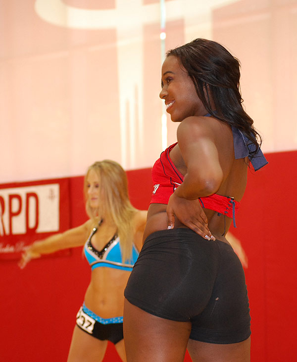 "<div class=""meta image-caption""><div class=""origin-logo origin-image ""><span></span></div><span class=""caption-text"">Women turned out in force at the auditions for the Rockets Power Dancers 2010-2011 season at Toyota Center, Sunday, July 11, 2010.</span></div>"