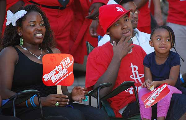 "<div class=""meta image-caption""><div class=""origin-logo origin-image ""><span></span></div><span class=""caption-text"">The Houston Rockets hosted open auditions for the 2010-2011 Red Rowdies at Toyota Center on Saturday, October 9.  Individuals and groups were given 30 seconds using props and costumes to be as outrageous, rowdy, creative and loud as possible. A celebrity judge panel was on hand to select the participants who exuded the most Rockets pride through their performance.  The grand prize is full season tickets to all Rockets home games for the 2010-2011 season.  (KTRK Photo)</span></div>"