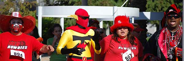 "<div class=""meta ""><span class=""caption-text "">The Houston Rockets hosted open auditions for the 2010-2011 Red Rowdies at Toyota Center on Saturday, October 9.  Individuals and groups were given 30 seconds using props and costumes to be as outrageous, rowdy, creative and loud as possible. A celebrity judge panel was on hand to select the participants who exuded the most Rockets pride through their performance.  The grand prize is full season tickets to all Rockets home games for the 2010-2011 season.  (KTRK Photo)</span></div>"