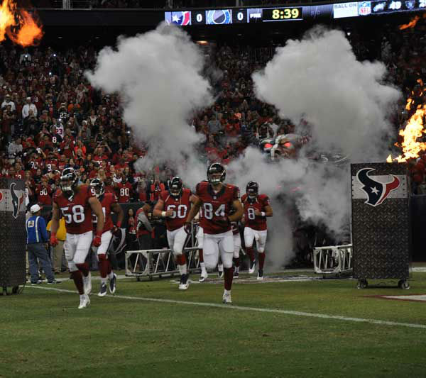 "<div class=""meta ""><span class=""caption-text "">These are photos from inside and outside Reliant Stadium before the Texans' 27-24 loss to Indianapolis at Reliant, Sunday, November 3, 2013.</span></div>"