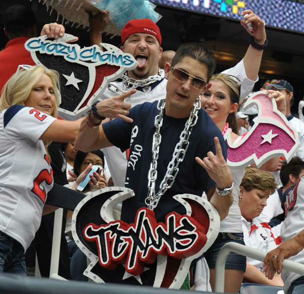"<div class=""meta ""><span class=""caption-text "">Fans partied inside and outside of Reliant Stadium Sunday, September 15, 2013, for the Texans'  home opener against Tennessee. (Photo/ABC13)</span></div>"