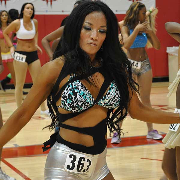 A couple hundred Power Dancer hopefuls were at Toyota Center Sunday, July 29, 2012, as the Rockets held auditions for this year&#39;s squad <span class=meta>(Photo&#47;ABC13)</span>