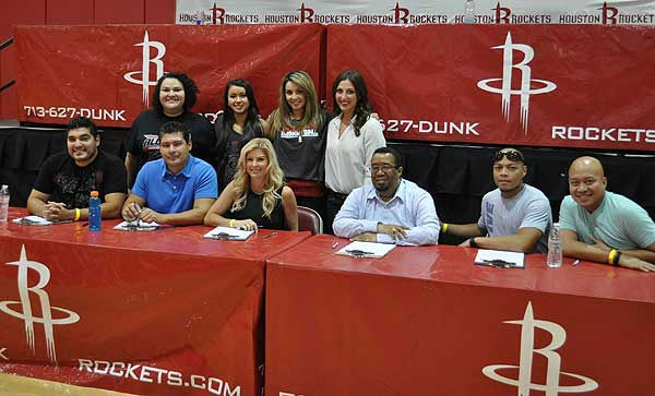 "<div class=""meta ""><span class=""caption-text "">A couple hundred Power Dancer hopefuls were at Toyota Center Sunday, July 29, 2012, as the Rockets held auditions for this year's squad (Photo/ABC13)</span></div>"
