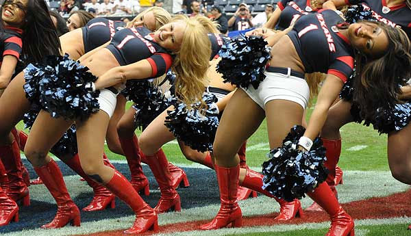 "<div class=""meta ""><span class=""caption-text "">Photos of the Houston Texans cheerleaders getting fans ready for the regular season finale against Tennessee, January 1, 2012. (Photo/ABC-13)</span></div>"