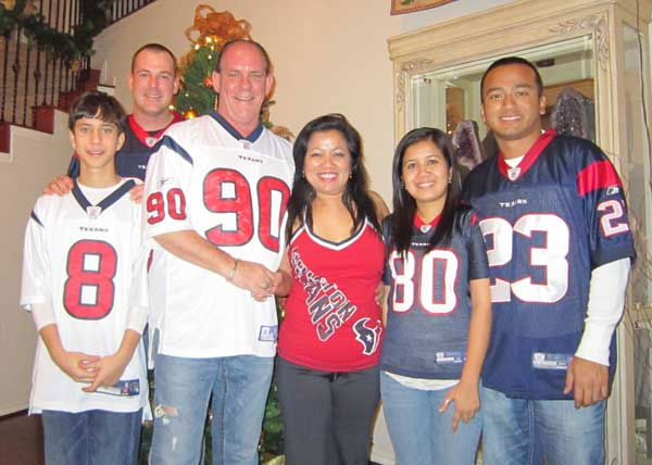 These are photos sent in by Texans fans. If you have a fan photo, send it to us at news@abc13.com or upload it on our iWitness Reports page.   <span class=meta>(Photo&#47;iWitness Reports)</span>