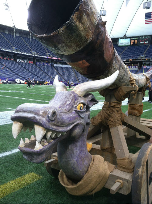 Photos from inside Metrodome before preseason opener <span class=meta>(ABC13)</span>