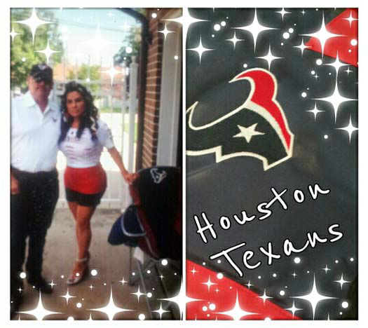 Who's ready for some football? These Texans fans are! They are just some of the photos emailed in to us through our iWitness Reports. Here are more! Send your fan photos to news@abc13.com