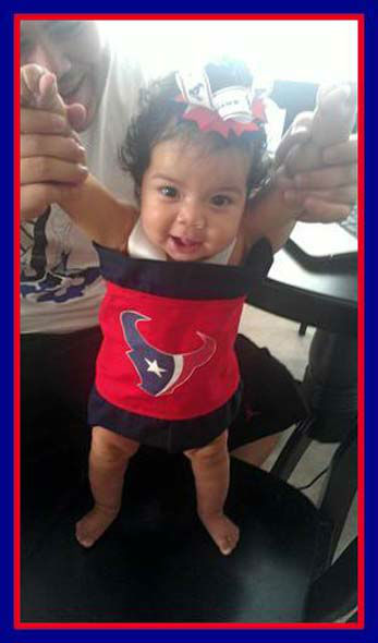 Who&#39;s ready for some football? These Texans fans are! They are just some of the photos emailed in to us through our iWitness Reports. Here are more! Send your fan photos to news@abc13.com  <span class=meta>(Photo&#47;Picasa)</span>