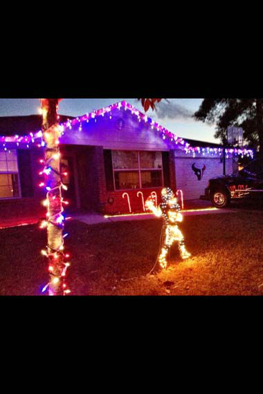 "<div class=""meta ""><span class=""caption-text "">These are some of the photos that have been sent to us, showing your holiday AND Texans spirit.  Are your halls decked with Texans colors?  Shoot a photo and send it to us at news@abc13.com and we'll post it here: http://bit.ly/yGLBZj (Photo/iWitness reports)</span></div>"